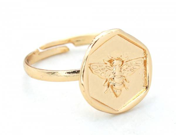 Bee Ring Gold