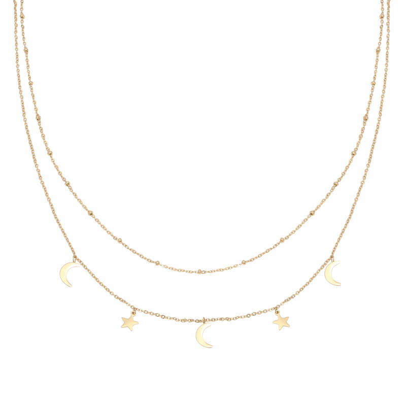 Beyond The Stars Necklace - Gold