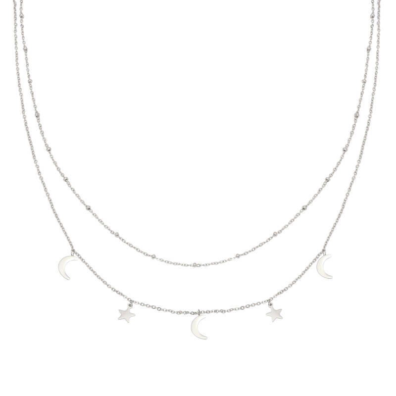 Beyond The Stars Necklace - Silver