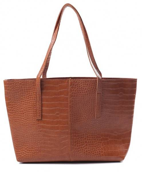 Croco Bag - Brown