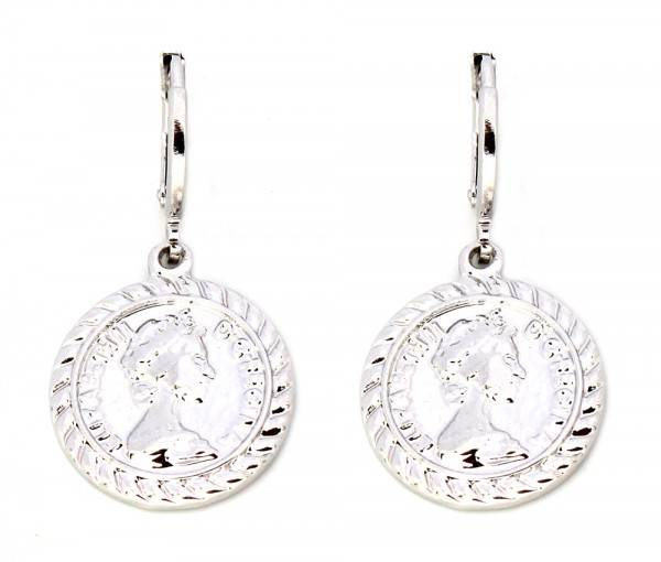 Elizabeth Earrings - Silver