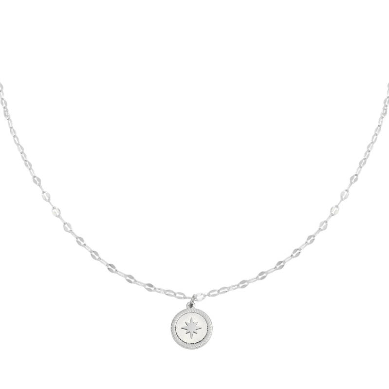Rising Star Necklace - Silver