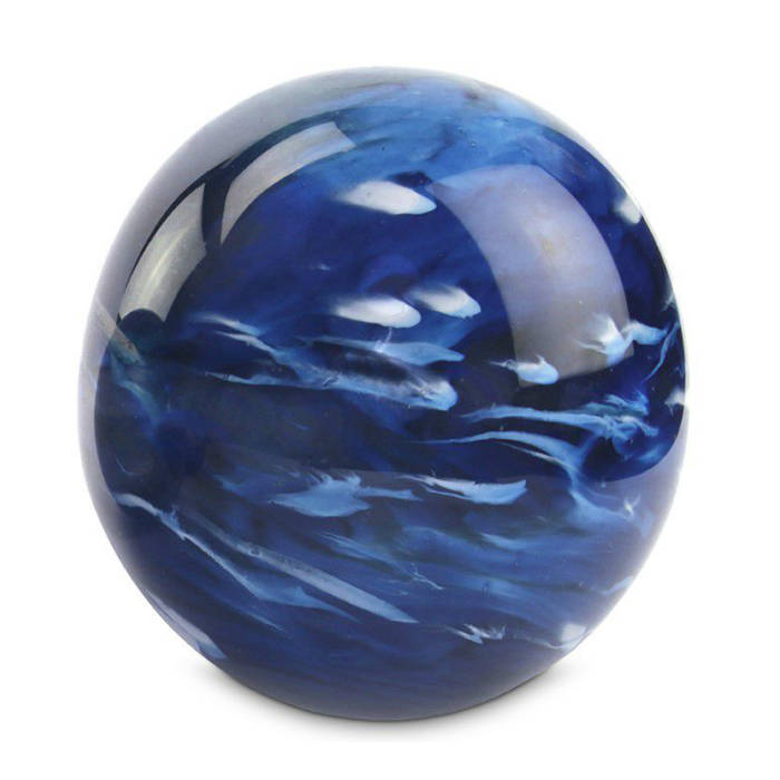 Marble Blue urn in drie formaten (100 / 500 / 1500ml)