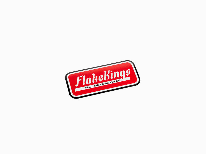 FlakeKings and Motorcycles decal.