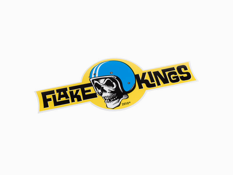 FlakeKings original brandlogo decal.