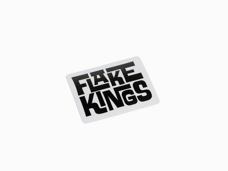 FlakeKings original typo decal.