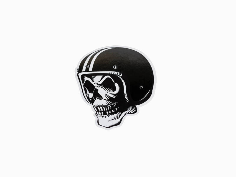 FlakeKings original skull decal.