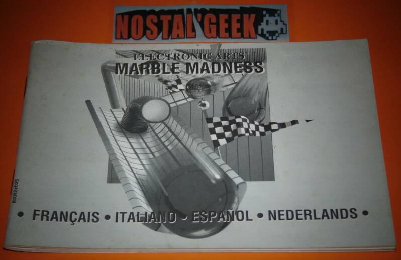 Marble Madness / Notice SMD / Pal.