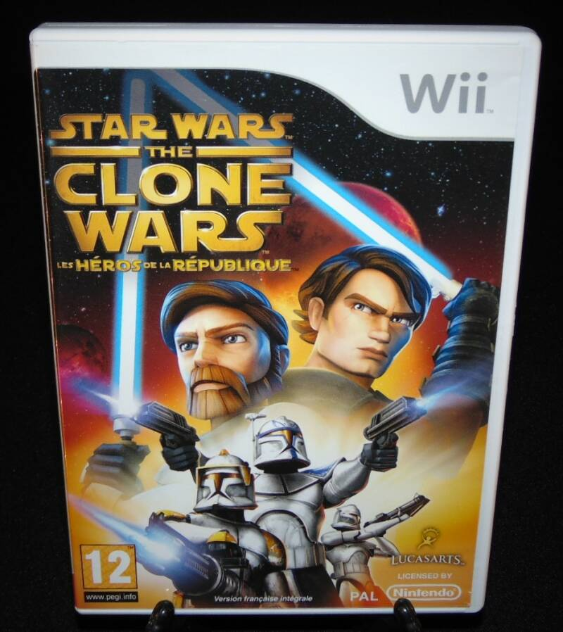 Star Wars The Clone Wars / WII / Complet