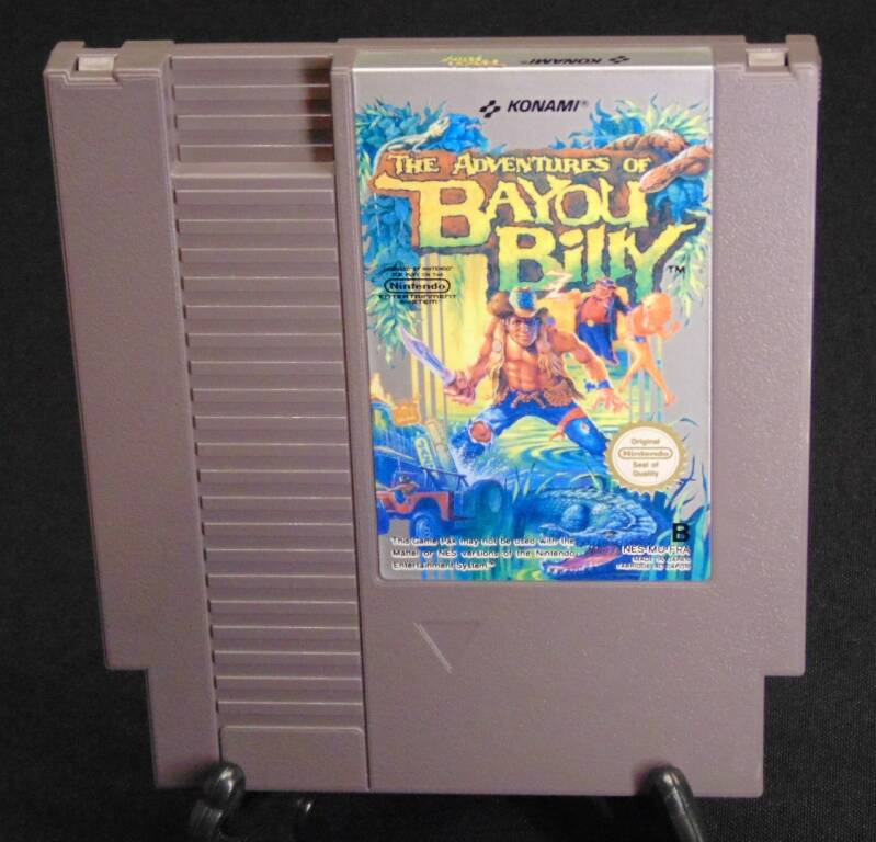 The Adventures of Bayou Billy / FRA. / NES