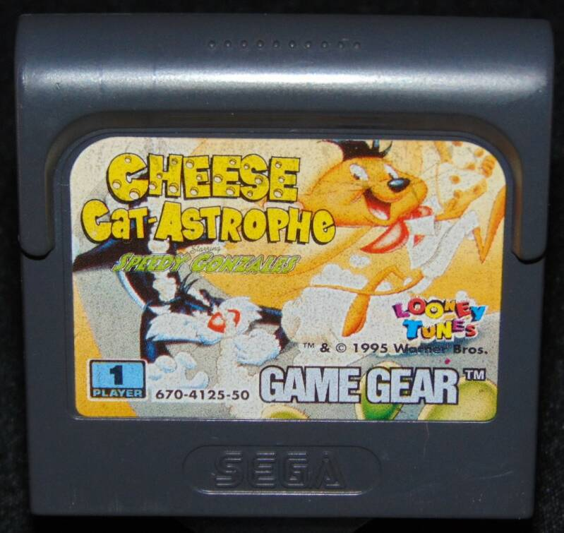 Cheese Cat Astrophe Speedy Gonzales / Pal. / GG