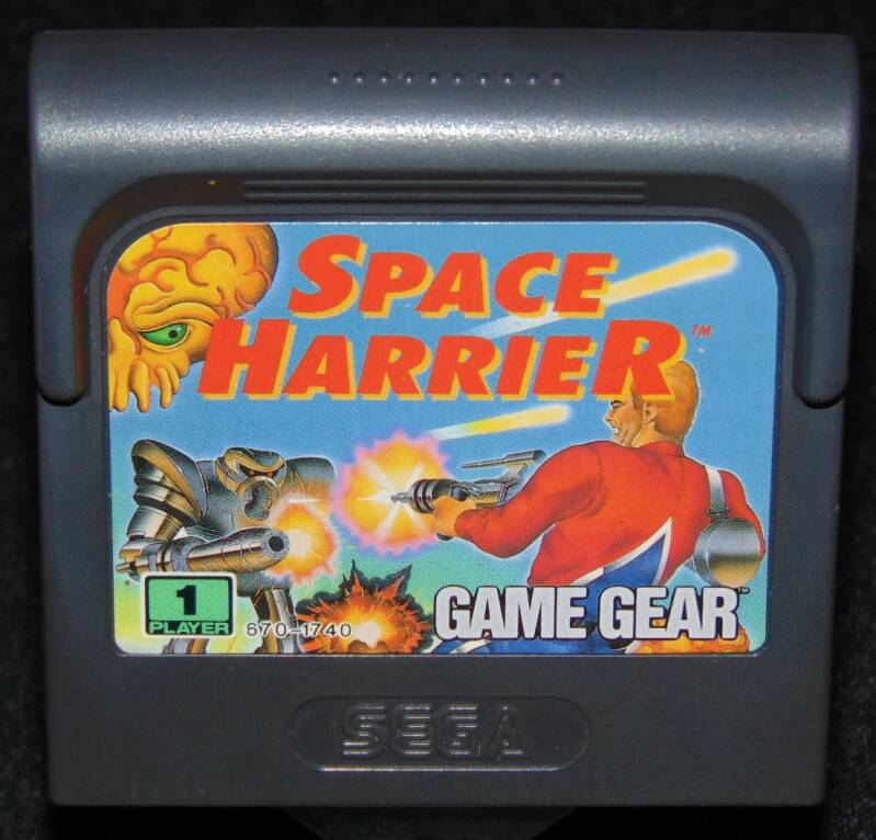 Space Harrier / Pal. / GG