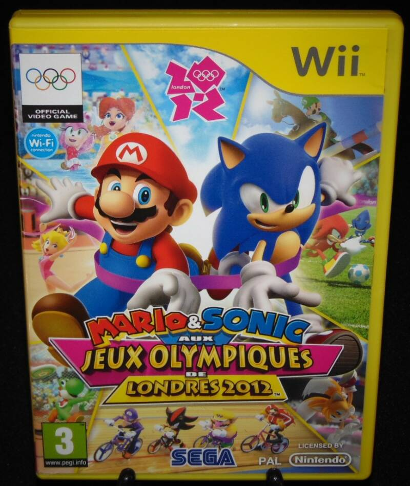 Mario & Sonic Jeux Olympiques Londres 2012 / WII / Complet