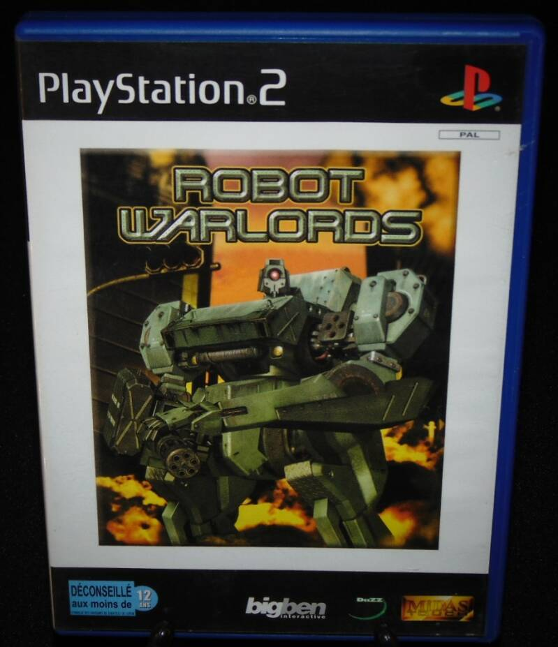 Robot Warlords / PS2 / Complet / Fr.