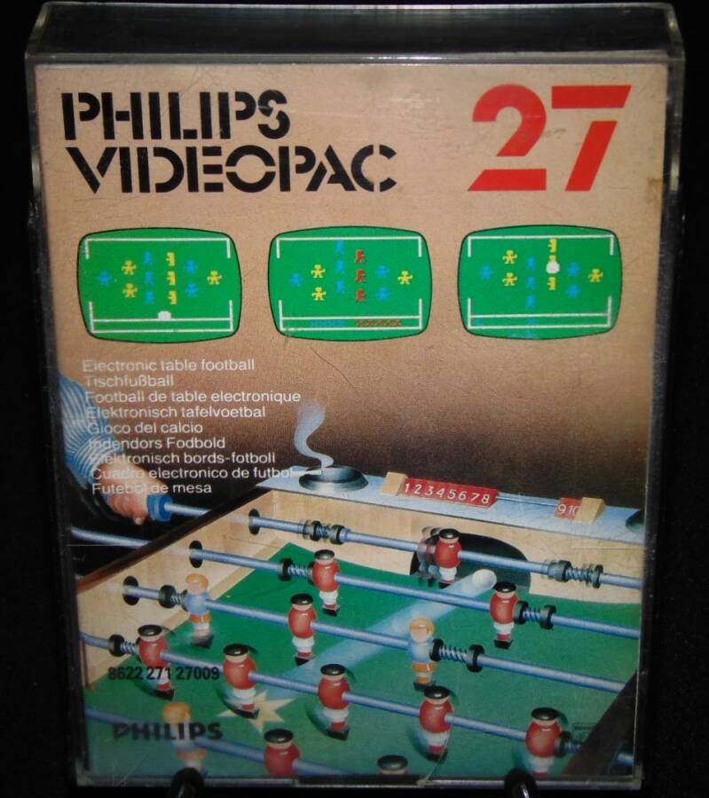 Baby Foot Jeu N°27 / Videopac / Complet