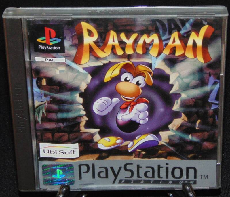 Rayman / PS1 / Complet / Platinum