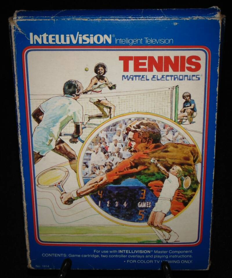 Tennis / Intellivision / Complet Fr.