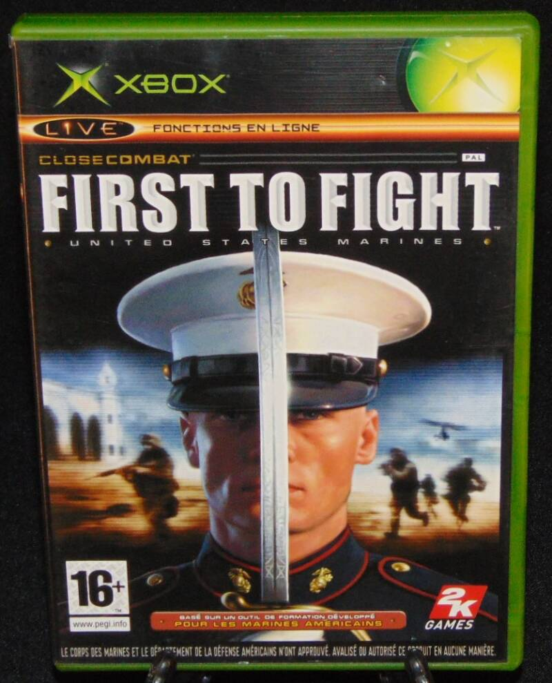 First To Fight United States Marines / Xbox / Complet / Fr.