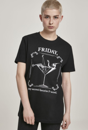 Ladies F-Word Tee - Zwart