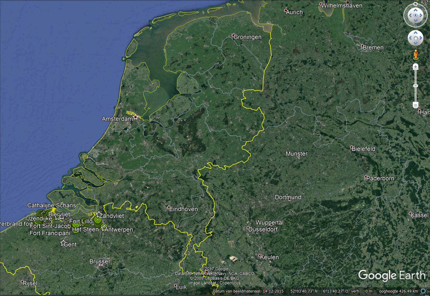 1568 Staats Spaanse Linies   1500 - 1599   Linies in Nederland 9f05a4f6f70b