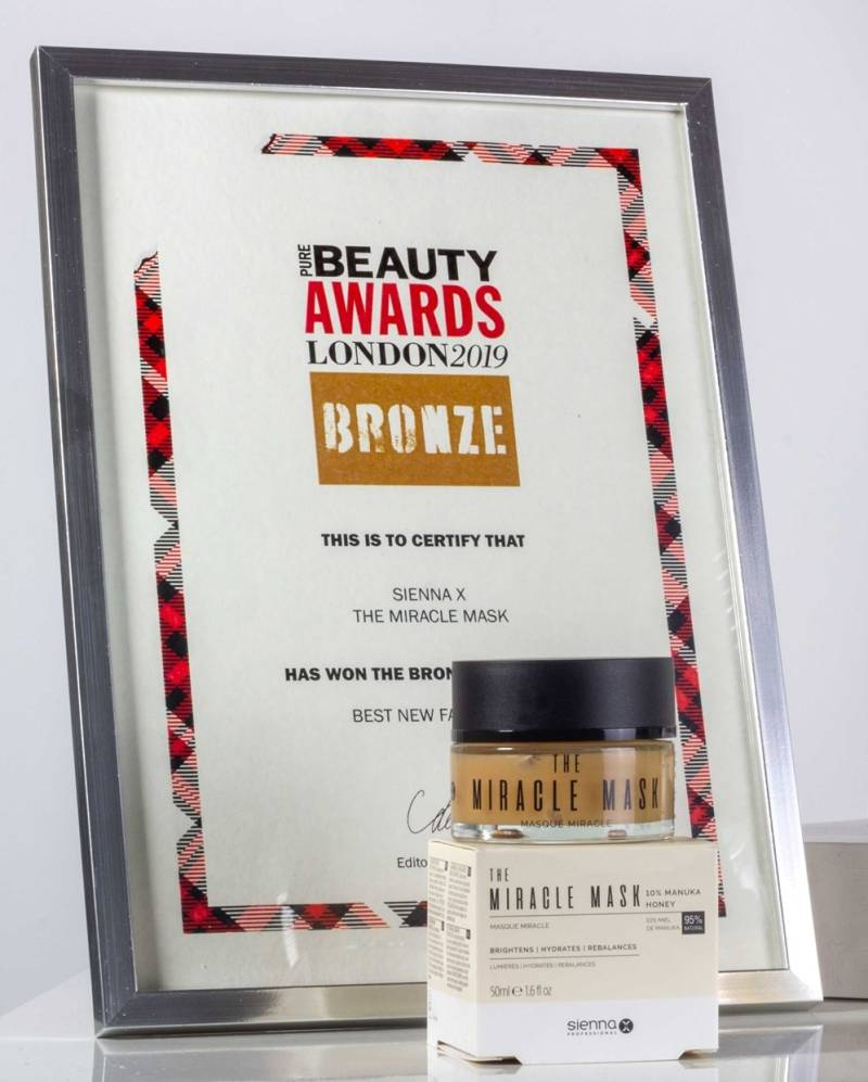 Miracle mask (Bronzen Beauty awards London 2019)
