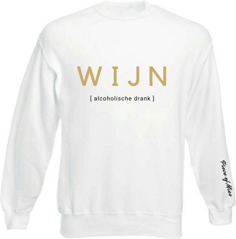 Dames Sweater | Quote Wijn