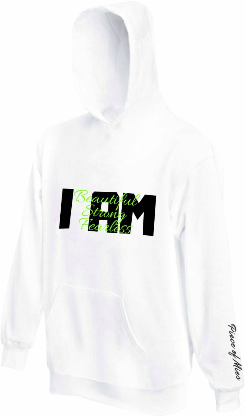 Dames Hoodie | Quote I am