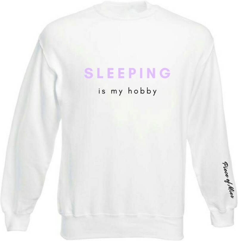 Dames Sweater | Tekst Sleeping