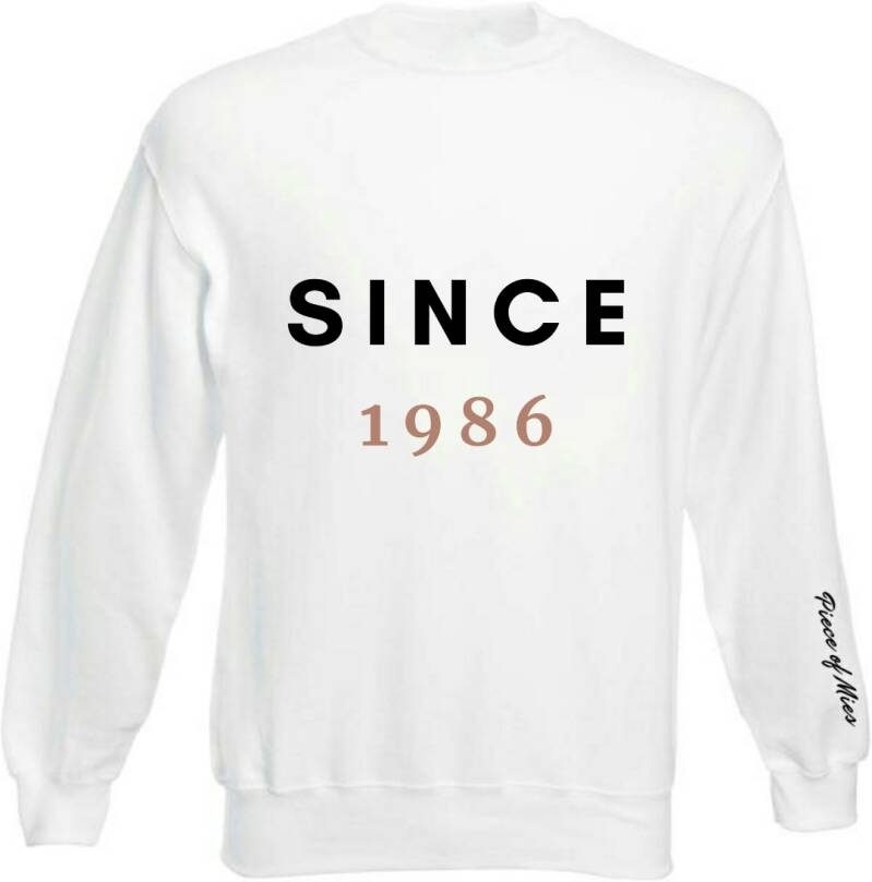 Dames Sweater | Tekst Since
