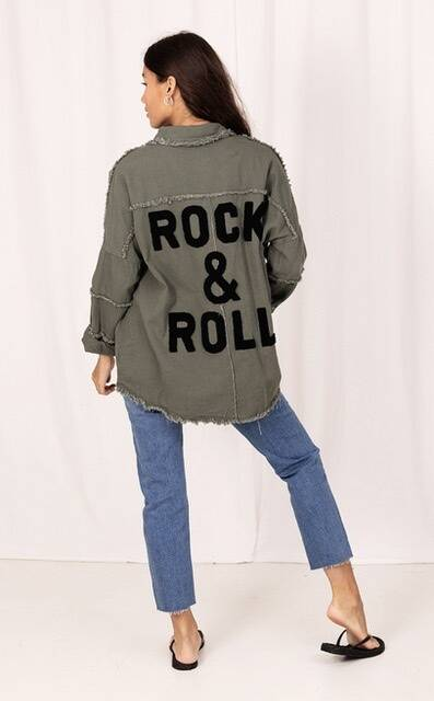 Jubylee jack Rock & Roll army-zwart