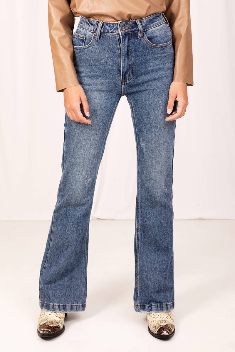 Vintage style flared jeans