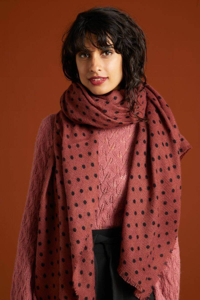 King Louie Scarf Pablo  05418-461 henna red 05418-658