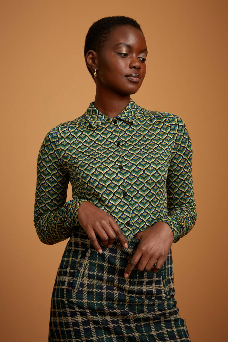 King Louie Blouse Residence 06613 302