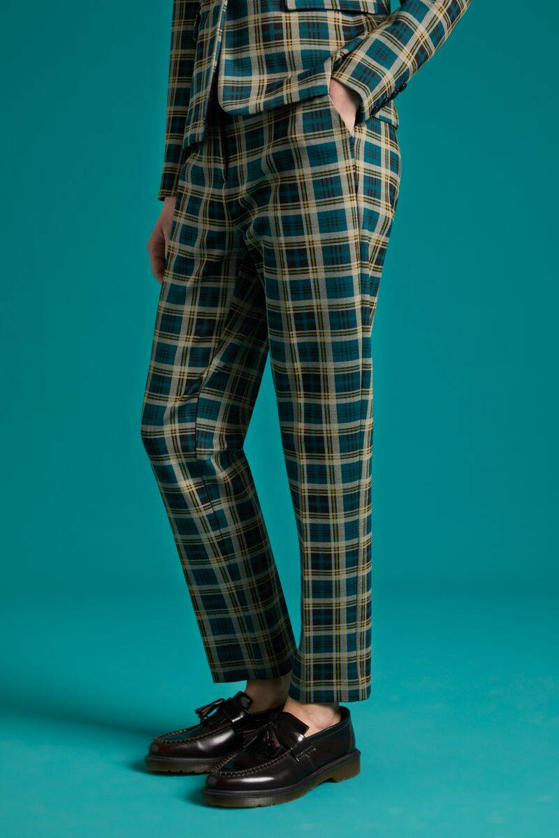 King Louie Ann pants Rodeo check 04401-300