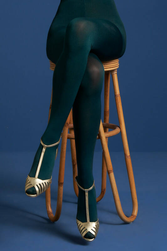 King Louie tights solid 120d 00679 300 dragonfly green