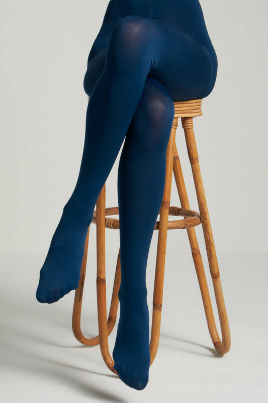 King Louie tights solid 120d 00679 408 autumn bleu