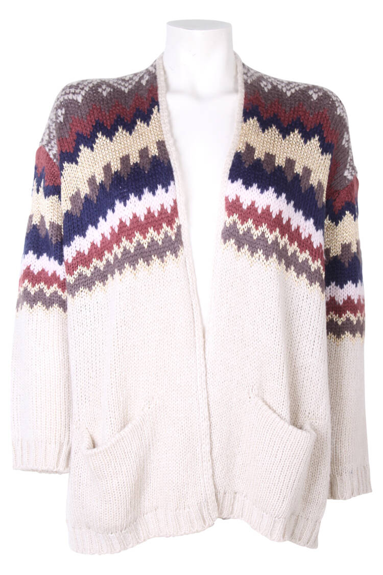 Bindi vest Peru granddad natural