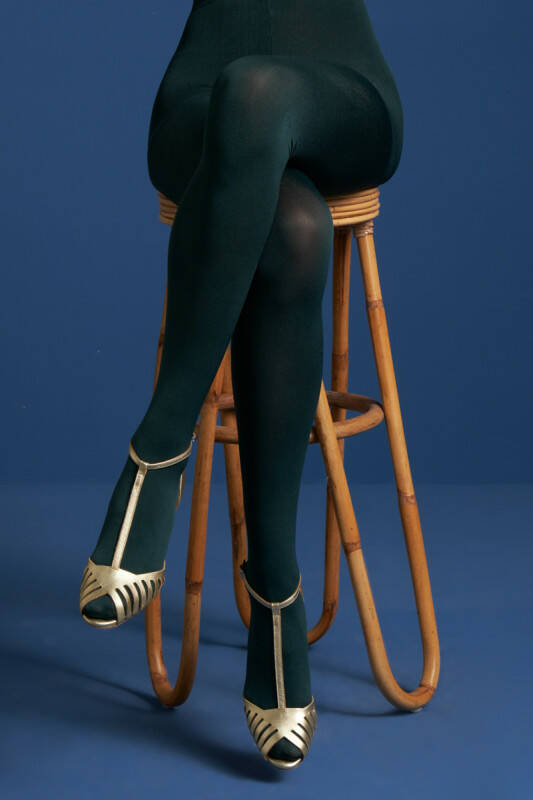 King Louie tights solid 120d 00679 200 pine green