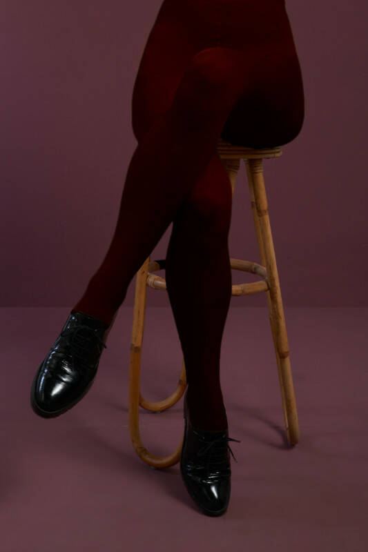 King Louie tights solid 120d 00679 800 porto red