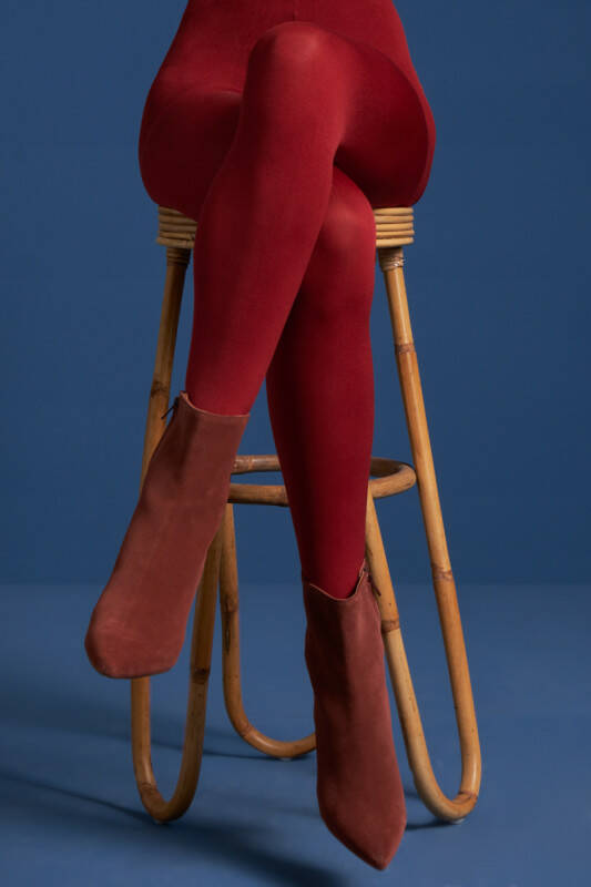 King Louie tights solid 120d 00679 651 true red