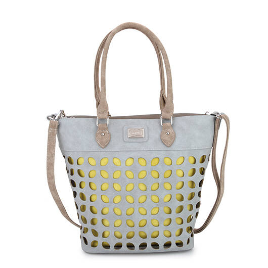 Shopper Daisy, Grey yellow