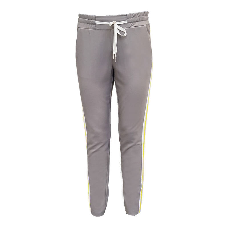 Broek Esmee - Grey yellow stripe