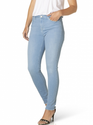 Jeans Ann - Gerafeld Light Blue