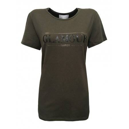 T-shirt Glamour - Taupe