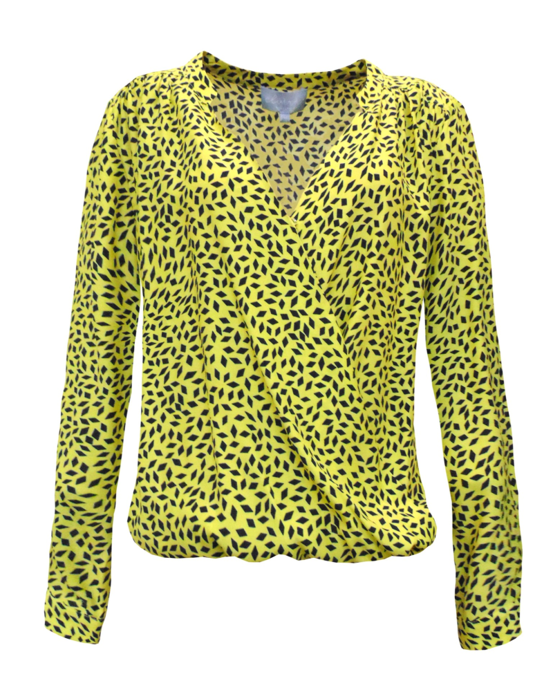 Blouse Renske - Diamond Yellow