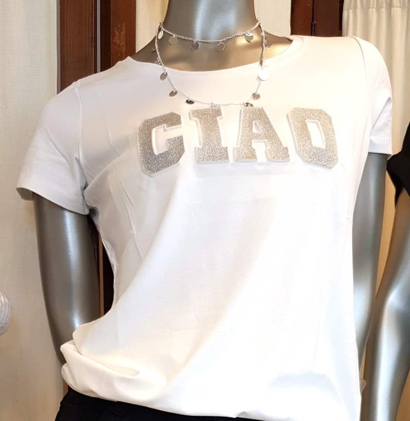 T-shirt Ciao - Grey