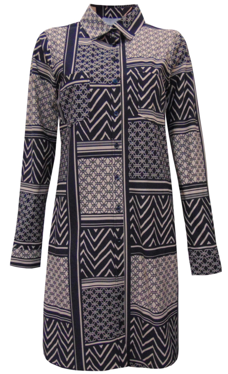 Tuniek/ blouse Megan -Travelstof