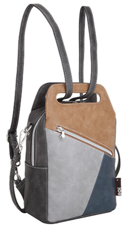 Tas Hope - Brown, Grey,  Navy