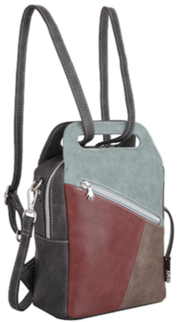 Tas Hope - Bordeaux, Sky blue, Cognac