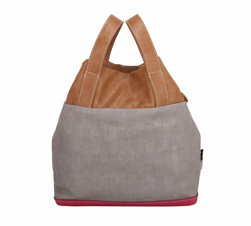 Tas Elio - Light Grey Pink
